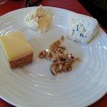 Le plateau des trois fromages