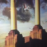 take off of Pink Floyd album cover by restrooms