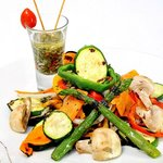 Vegetales asados Runtun