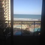 Large Private Balcony in 1 Bedroom Ocean Front