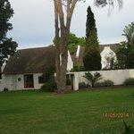 Chelaya Lodge front lawn.