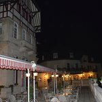La terrasse haute by night