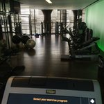 Great gym with plenty of equipment