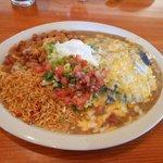 Huge lunch portion
