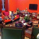 Lazy living room