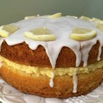 Lemon drool cake