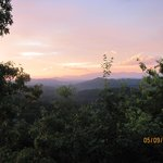sunrise over smokies