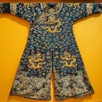 Jifu Man's semi-formal court robe Qing Dynasty 19th century CE