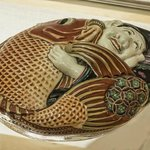Covered ceramic dish from Japan 19th-20th century CE