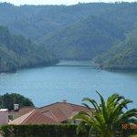 Vista da varanda para o Lago Azul