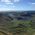 From the top of Te Mata Peak