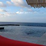 Trident Pool deck