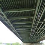 Below the Hohenzollern Bridge