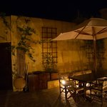 Courtyard at night - Zacosta