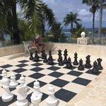 Lifesize Chess Board