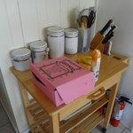 pink box o donuts