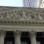 top of the wall street building