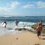 Locals surfing  fun to watch