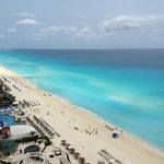 Cancun has the bluest waters in Mexico
