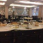 Desayuno buffet de dulces