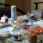 cafe da manhã - Desayuno