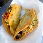 Two Tacos - most Montana restaurants use boring tortillas