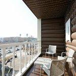 Балкон в номере Полулюкс с балконом