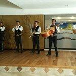 Mariachi Band in the Lobby Bar
