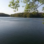 Lake at Siloam Springs State Park