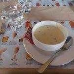 Dinner - Veal Special - Mushroom soup