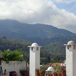 Vista desde la terraza del hotel