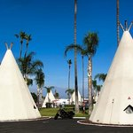 Another view of the grounds and tipi.