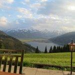 Zell am See - Mitterberghof - vista do lago e montanhas
