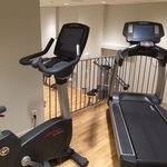 Top level cardio machines (two more are behind this)