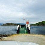 tarbert, portavadie ferry on loch fyne
