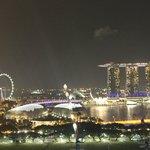 Marina Bay Sands Casino at night