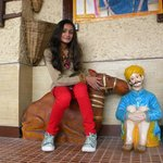 Khushi on Camel