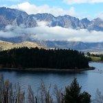 stunning view of lake