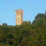Il castello. .. vista dal borghetto