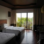 Double Bed Room facing Pool