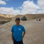 in the ramon crater