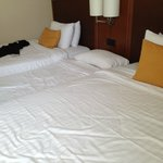 No 3 bedded room.. just an extra bed