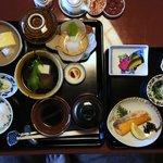 大和屋別荘の朝食