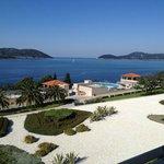 vue terrasse de l'Hôtel Radisson Blu Resort & Spa 5*