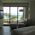 View from Oceanview Deluxe room