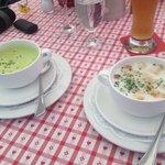 Asparagus Soup, Wild Garlic Soup