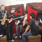 Jam session after Jazz Festival concert