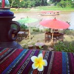 The best atmosphere near Ping river side