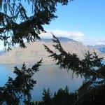 Gorgeous view of Lake Wakatipu