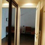 Piccolo corridoio con armadio